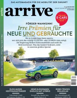 Cover der Arrive Ausgabe No. 5 - Irre Prämien für Neue und Gebrauchte
